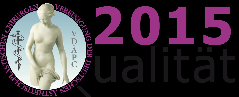 Zertifiziert durch das Qualitätssiegel der Vereinigung der Deutschen Ästhetisch-Plastischen Chirurgen