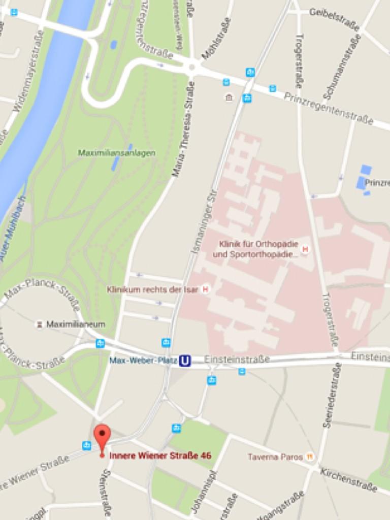 Anfahrt Plastische Chirurgie Dr Metz München.001