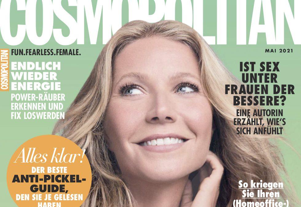 COSMOPOLITAN INTERVIEW:  Autorin Monika Rose testet bei Dr. Christian Metz ein angesagtes Brauen-Lifting und ist begeistert!